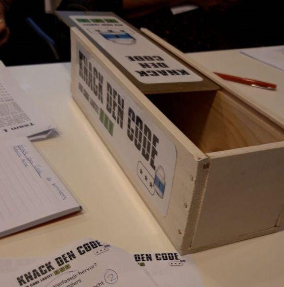 'Knack den Kode' een idee van Richard Mulders en Rebecca Hesse